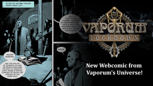 Check out a small story snippet from the history of the Arx Vaporum